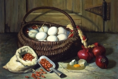 The Basket With Eggs